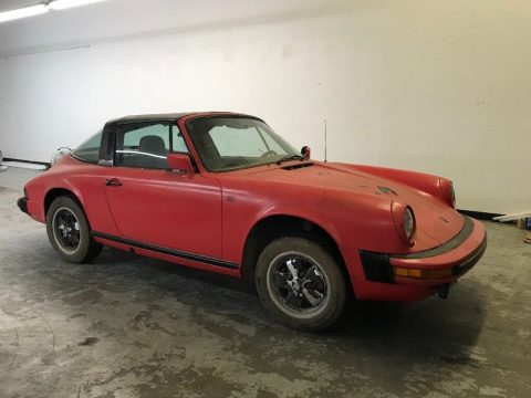 just out of storage 1977 Porsche 911 Targa 2.7 L for sale