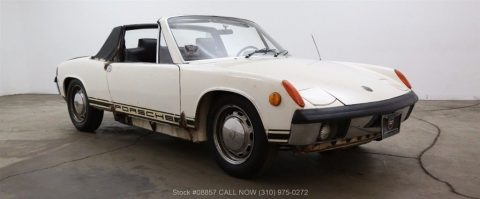 Matching numbers 1970 Porsche 914-6 Targa restoration project for sale