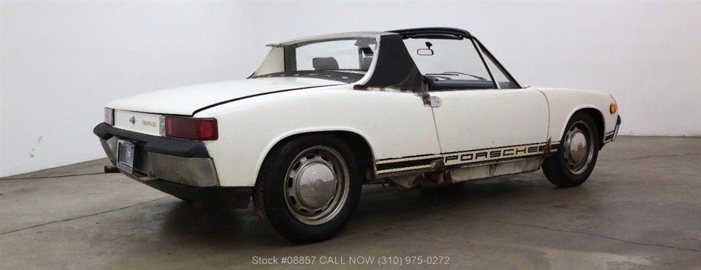 Matching numbers 1970 Porsche 914-6 Targa restoration project