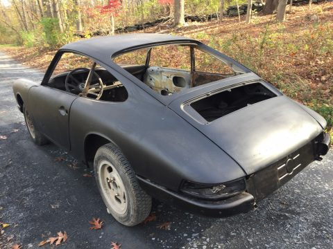 Rolling 1966 Porsche 912 Project for sale