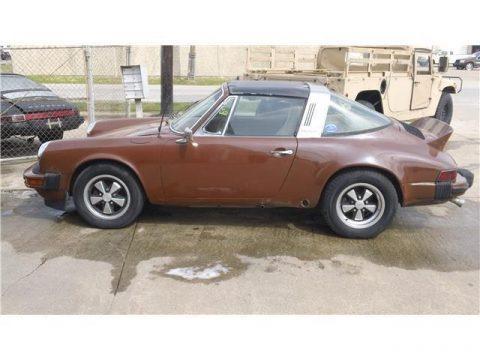 solid 1975 Porsche 911 Targa project for sale
