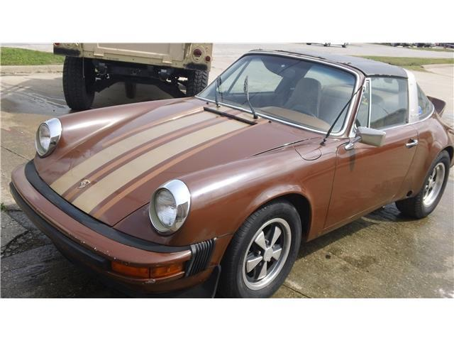 Porsche 911 Restoration Project For Sale >> solid 1975 Porsche 911 Targa project for sale