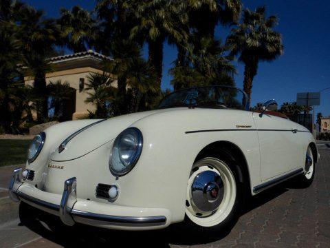 1957 Porsche 356 SPEEDSTER – NEW BUILD for sale