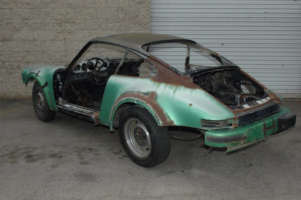 1978 Porsche 930 – Rust Free Pan for sale