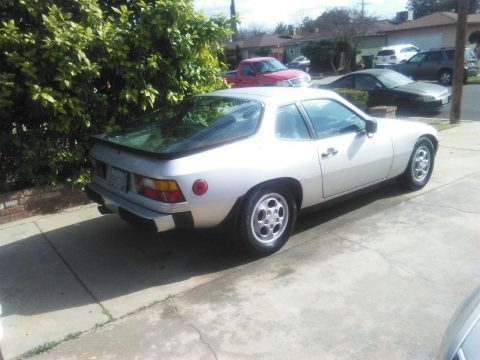 1987 Porsche 924 – BODY IN DECENT SHAPE for sale