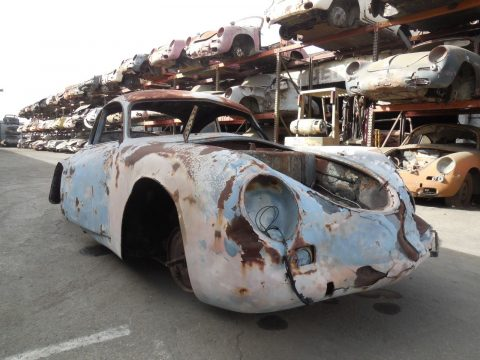 1955 Porsche 356 Coupe Pre A Project Car for Parts for sale