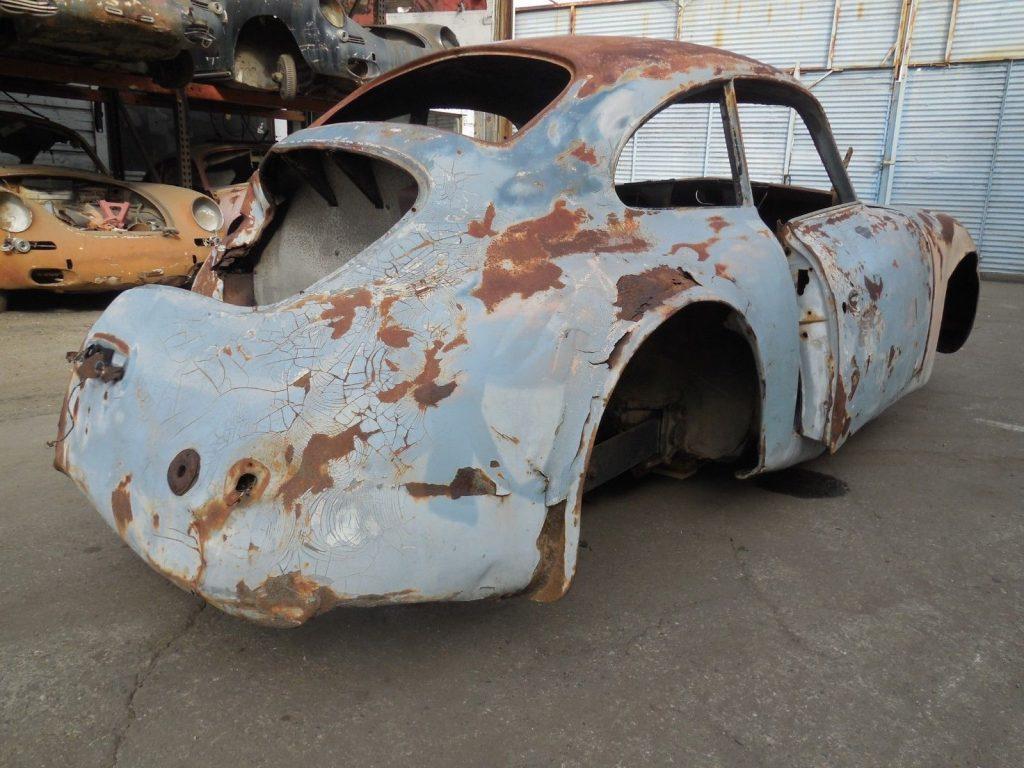 1955 Porsche 356 Coupe Pre A Project Car for Parts