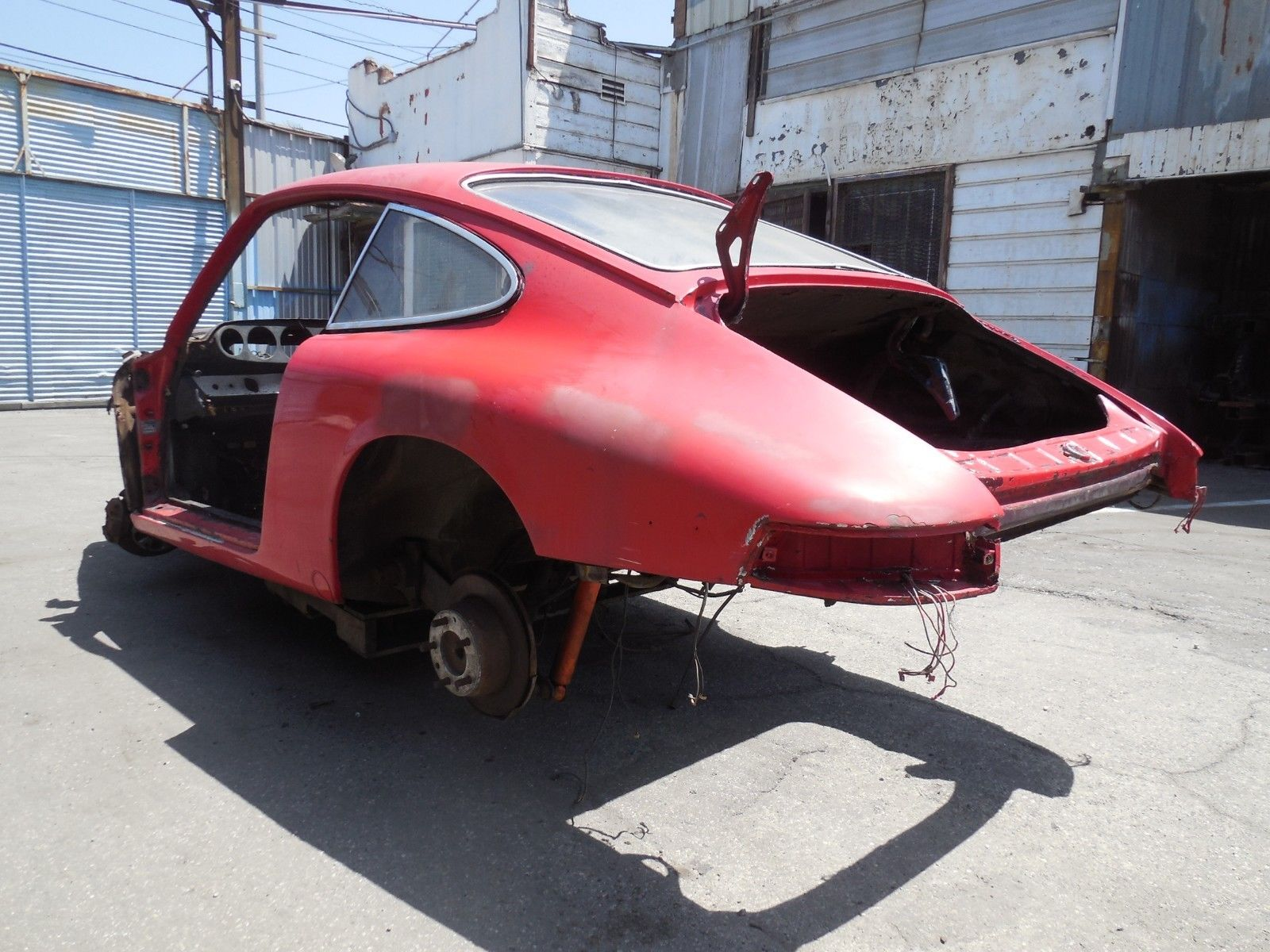 1968 Porsche 912 Coupe Project Car For Parts Or Restoration Swb For Sale