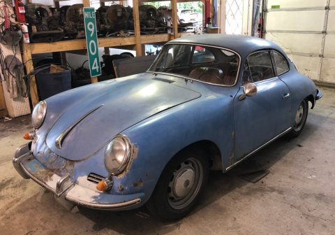 1964 Porsche 356 C Coupe Project, One Owner, Matching Numbers for sale