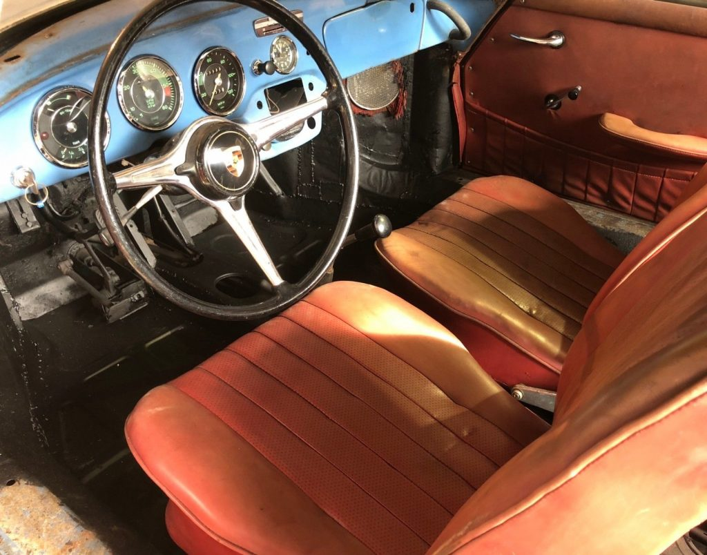 1964 Porsche 356 C Coupe Project, One Owner, Matching Numbers