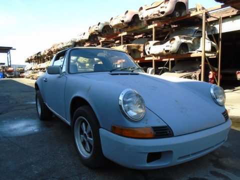 1972 Porsche 911 S Targa Project Car for Restoration Rare S Sportomatic for sale
