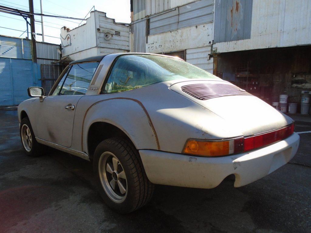 1972 Porsche 911 S Targa Project Car for Restoration Rare S Sportomatic