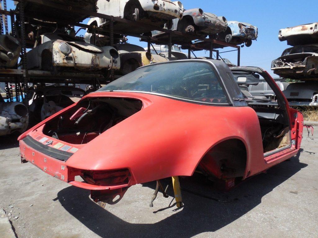 1978 Porsche 911 SC Targa Project Car for Parts or Restoration