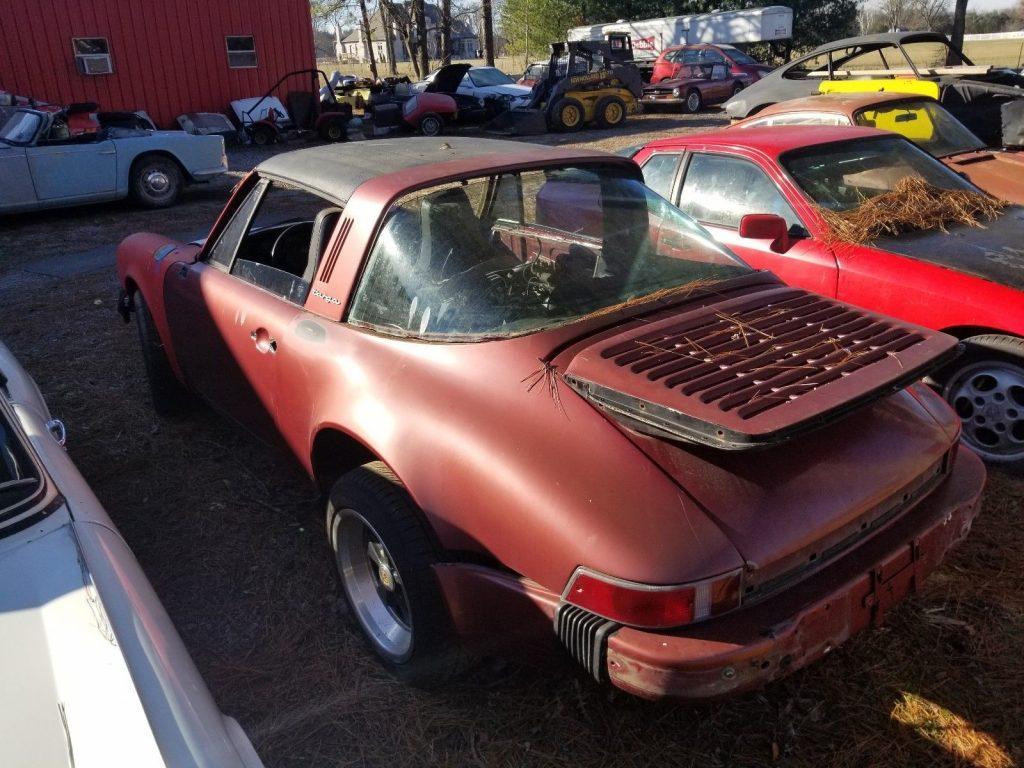 1982 Porsche 911 Targa Project Car