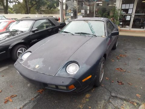 1986 Porsche 928 Blue Leather Project car for sale