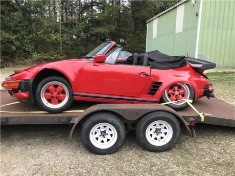 1988 Porsche 930 Turbo Cabrio for sale