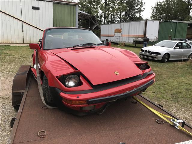 1988 Porsche 930 Turbo Cabrio