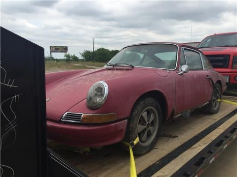 Rusty 1967 Porsche 912 for sale